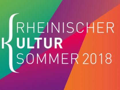 Mitmachen beim Rheinischen Kultursommer 2018 – Teilnahmeaufruf für Veranstalter