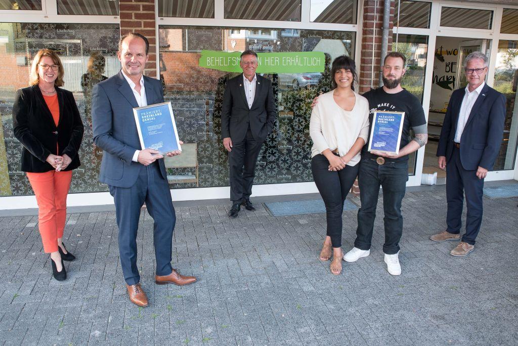 """Innovationspreis """"RHEINLAND GENIAL"""" geht an zwei Unternehmen aus dem Rhein-Kreis Neuss"""