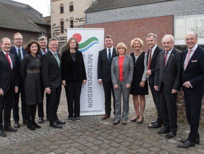 Kuratorium des Vereins Metropolregion Rheinland hat sich gegründet