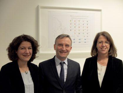 Die Metropolregion Rheinland e.V. bekommt mit Kirsten Jahn und Ulla Thönnissen eine neue Geschäftsführung
