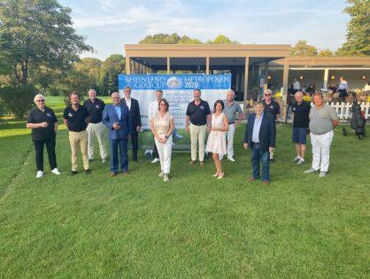 Starkes Netzwerk für den guten Zweck – Metropolregion kooperiert mit Rheinland Metropolen Golfcup