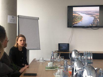 Vortrag der MRR beim Besuch der Delegation Süd-Holland in Düsseldorf