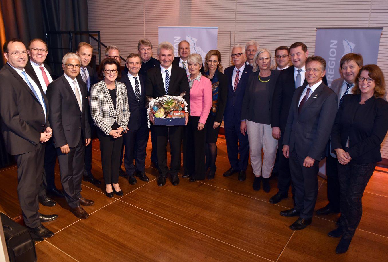 Erste Mitgliederversammlung der Metropolregion Rheinland