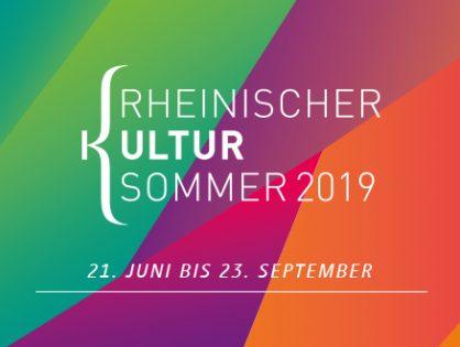 Der Rheinische Kultursommer geht 2019 in eine neue Runde