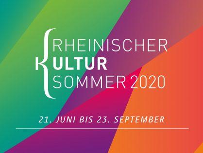 Kultur im Rheinland aufgepasst: Jetzt bewerben für den Rheinischen Kultursommer 2020!