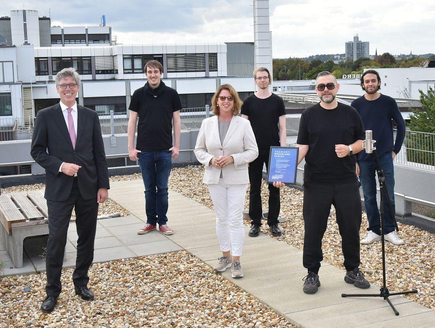 """Das Aachener Unternehmen Sonarbird erhält den """"Rheinland Genial"""" Innovationspreis"""