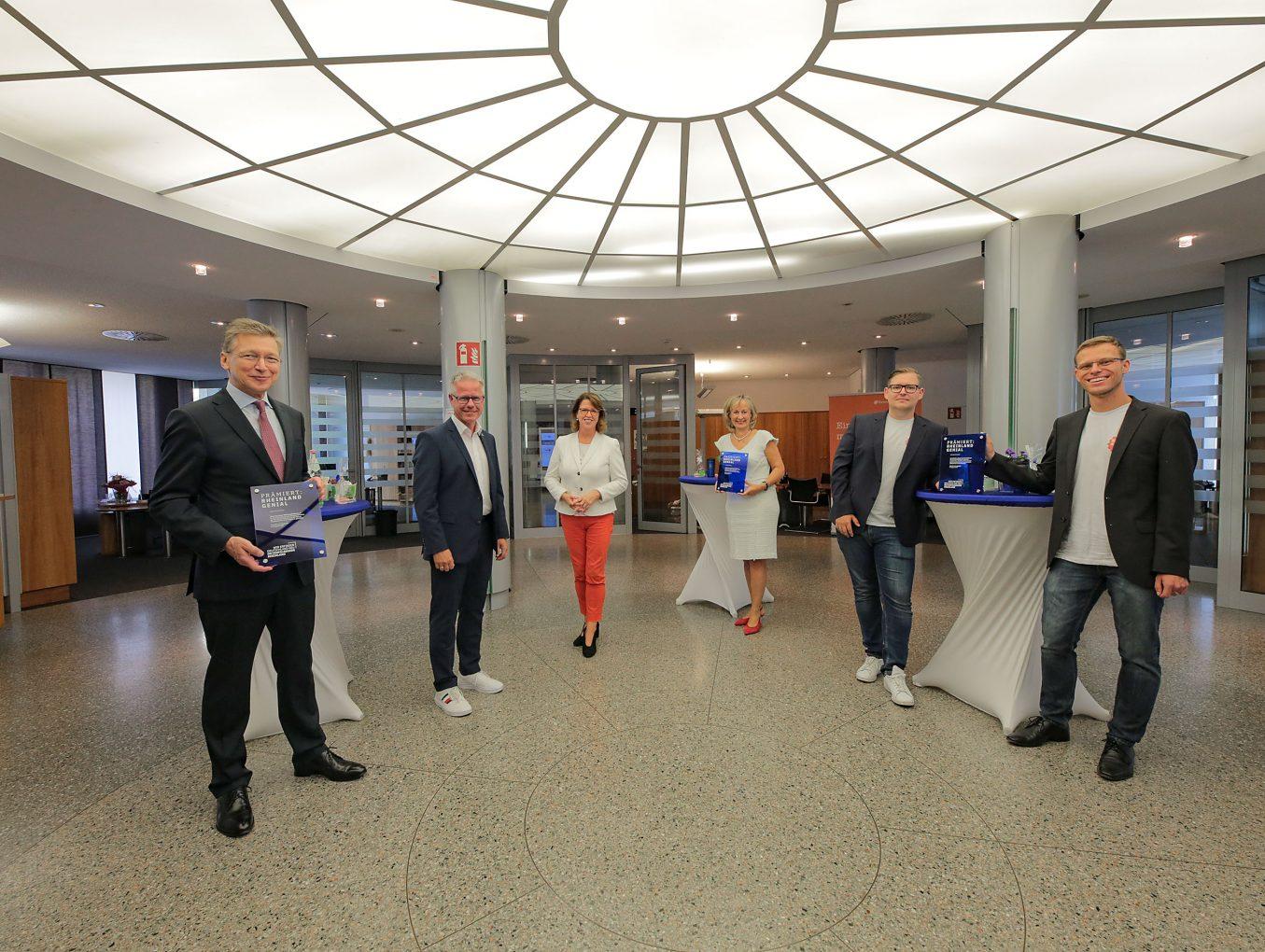 """Mönchengladbacher Unternehmen mit Innovationspreis """"Rheinland Genial"""" ausgezeichnet"""
