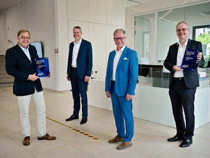 """Innovationspreis """"Rheinland Genial"""" geht an zwei Unternehmen aus dem Kreis Viersen"""