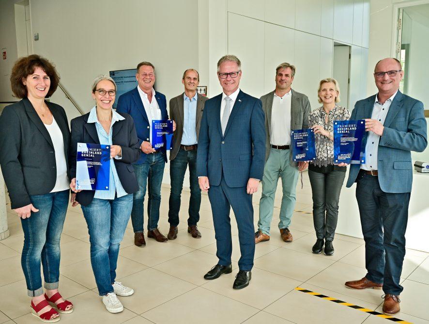 """Vier Krefelder Unternehmen erhalten Innovationspreis """"Rheinland Genial"""""""