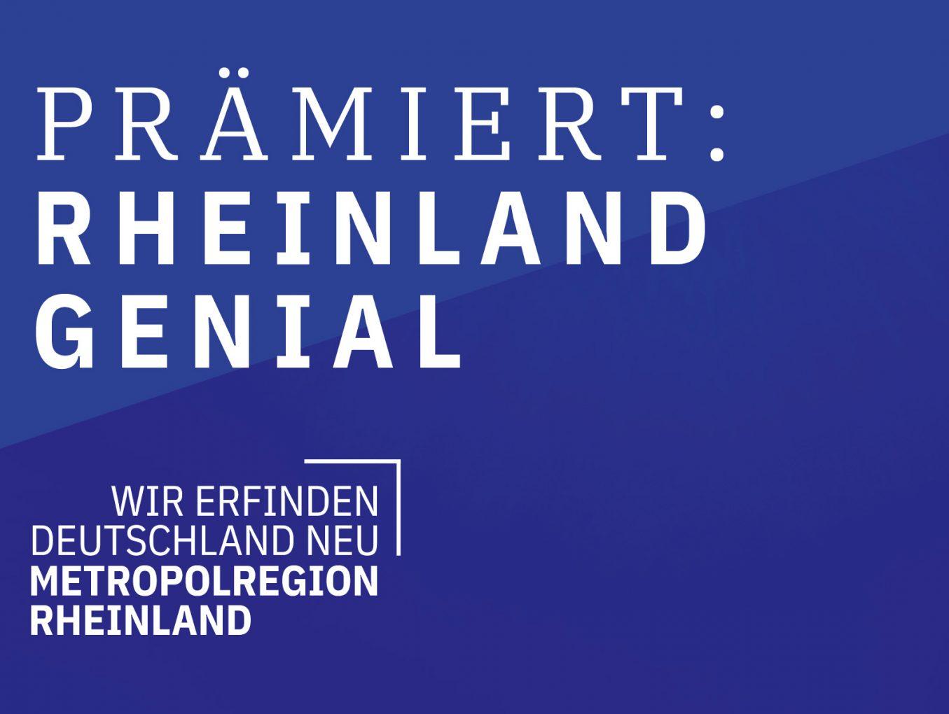 Zwei Aachener Unternehmen erhalten den Innovationspreis Rheinland Genial