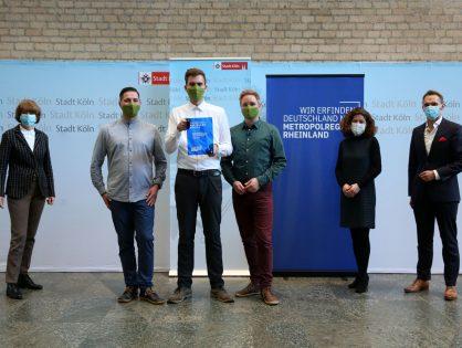 """Oberbürgermeisterin Reker zeichnet Railslove mit dem """"RHEINLAND GENIAL"""" Award aus"""