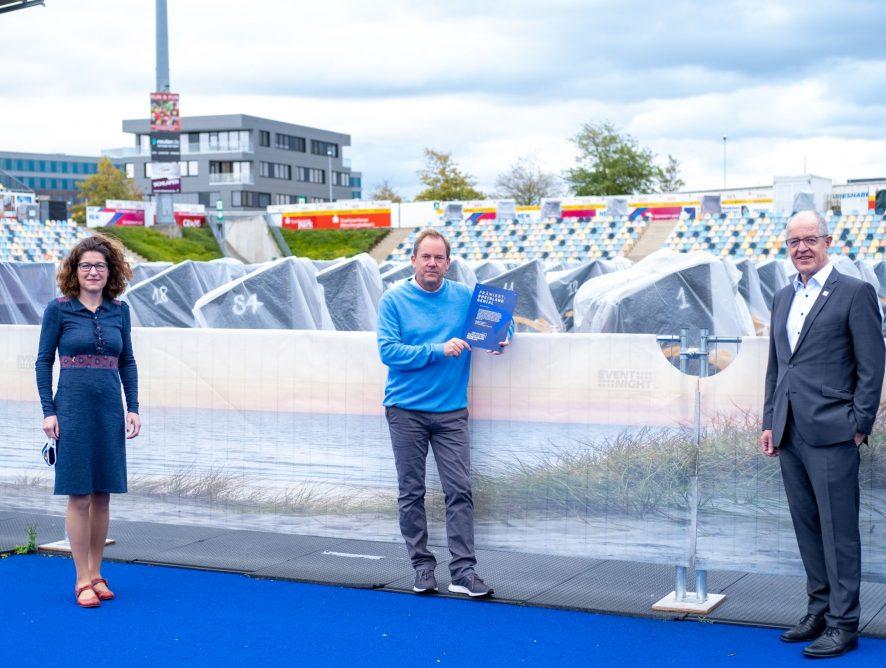 Metropolregion Rheinland zeichnet STRANDKORB Open Air in Mönchengladbach aus