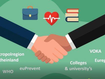 INTERREG-Projektantrag eingereicht - Innovationen in der Gesundheitsversorgung grenzüberschreitend denken