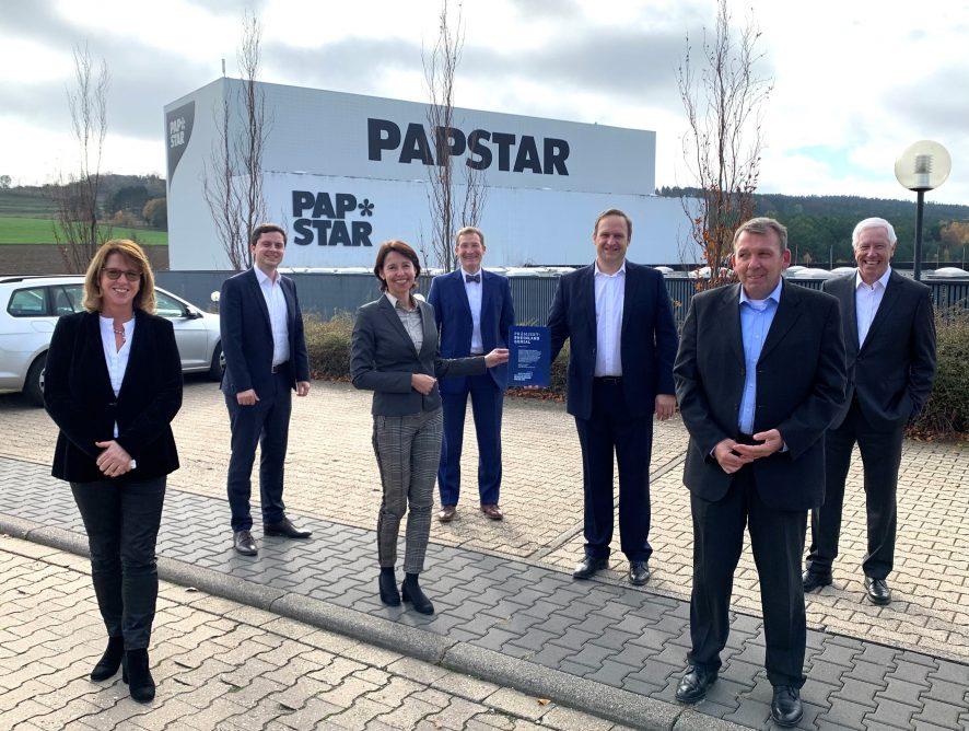 Rheinland Genial Award an Papstar GmbH in Kall verliehen