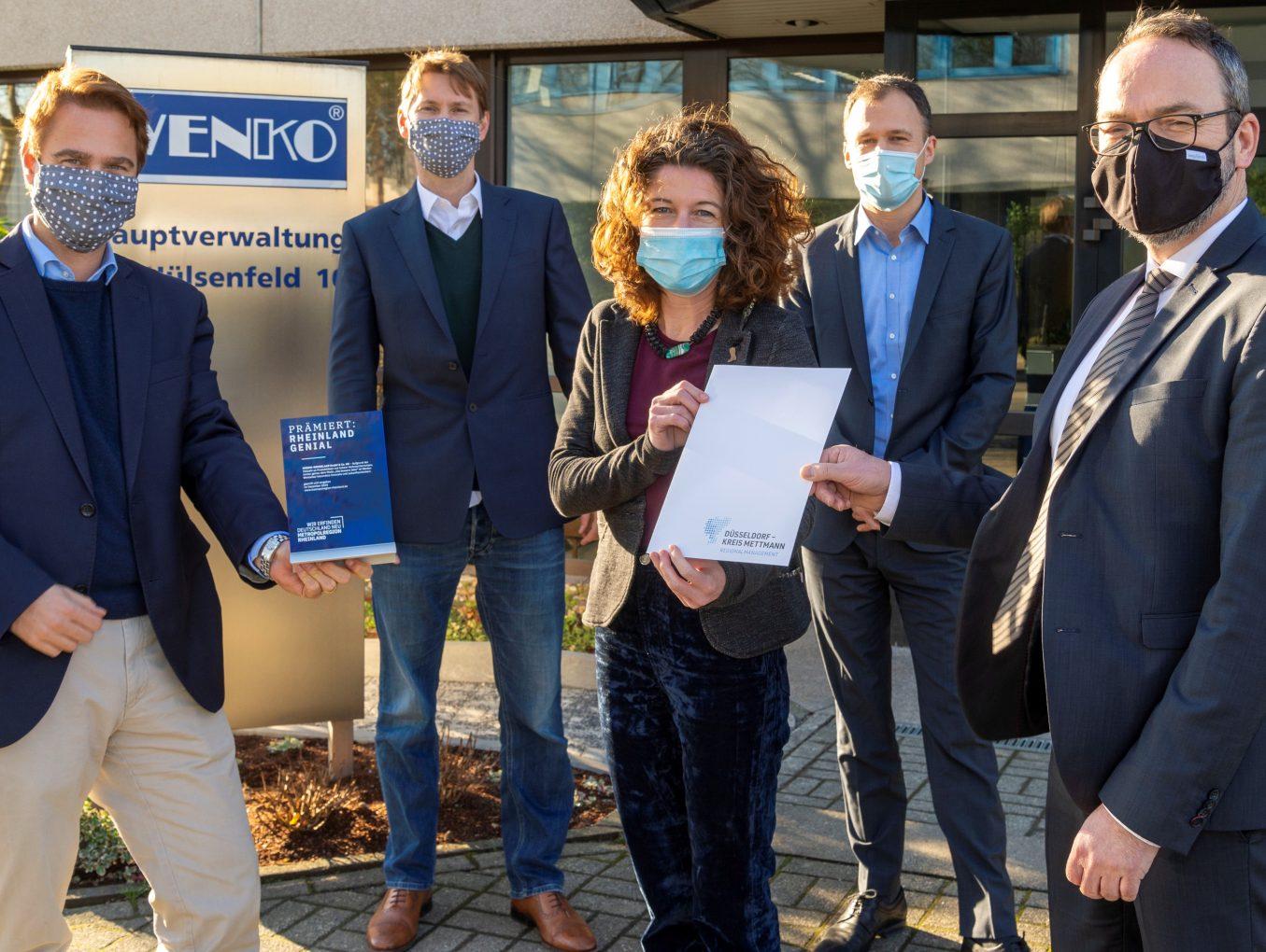 """Traditionsunternehmen WENKO erhält Innovationspreis """"RHEINLAND GENIAL"""""""