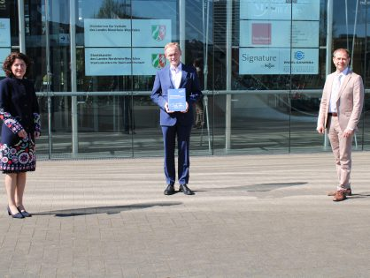 Metropolregion Rheinland übergibt Positionspapier zu ÖPNV-Bedarfsplan NRW an Staatssekretär Dr. Schulte