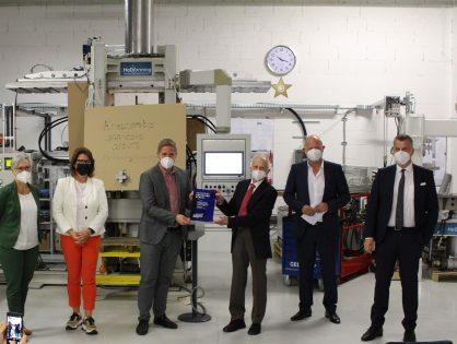 """""""RHEINLAND GENIAL""""-Award für patentierte Hot Die Forming-Technologie"""
