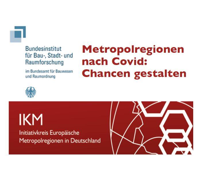 """""""Metropolregionen nach Covid: Chancen gestalten"""" am 14. September 2021"""